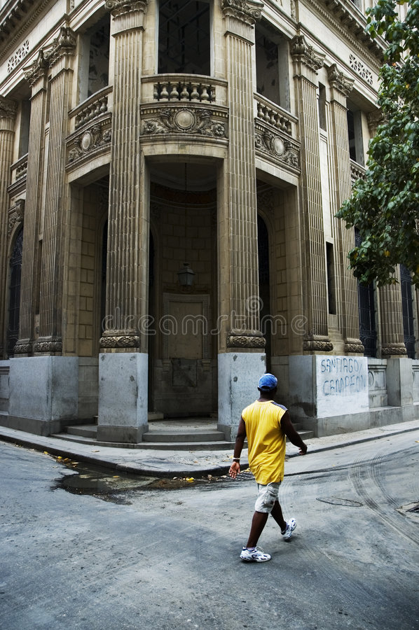 Havana-Gebäude stockfotografie