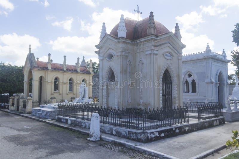 Havana Graveyard Mausoleum fotos de stock royalty free