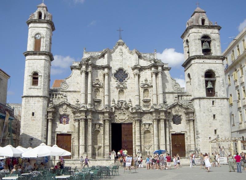 Havana-Kathedrale lizenzfreie stockfotos