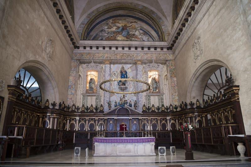 Havana-Kathedrale, Kuba stockfoto