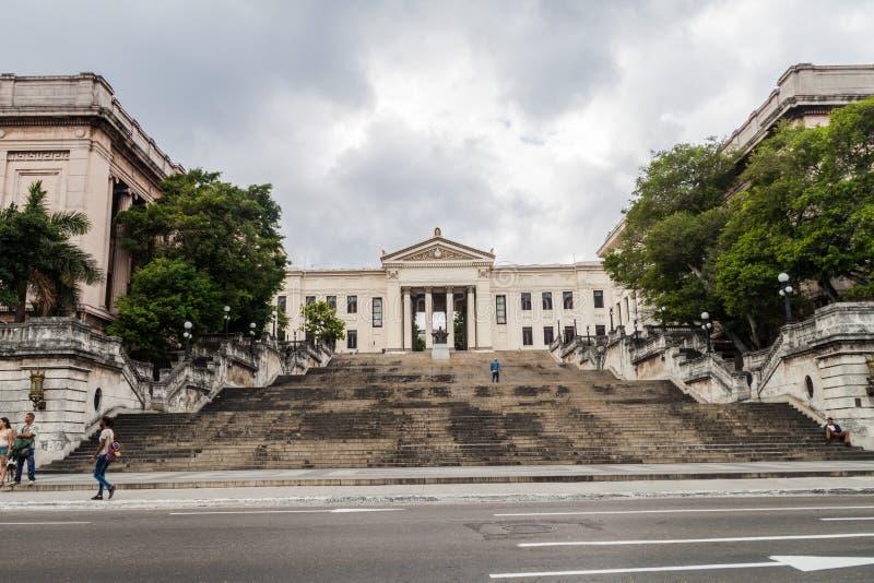 HAVANA, KUBA - 21. FEBRUAR 2016: Die Universität von Havana, CUB stockfoto