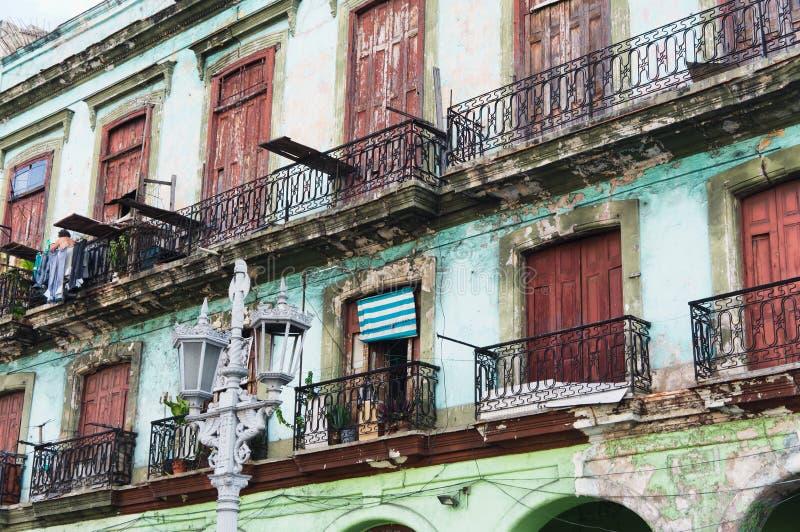 Havana, Kuba. Straßenszene. stockfotografie