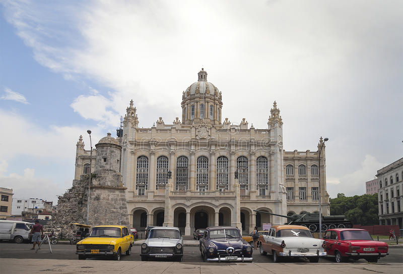 Havana, Museum of the Revolution royalty free stock image