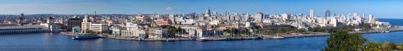 Havana.Panorama em um dia ensolarado imagem de stock