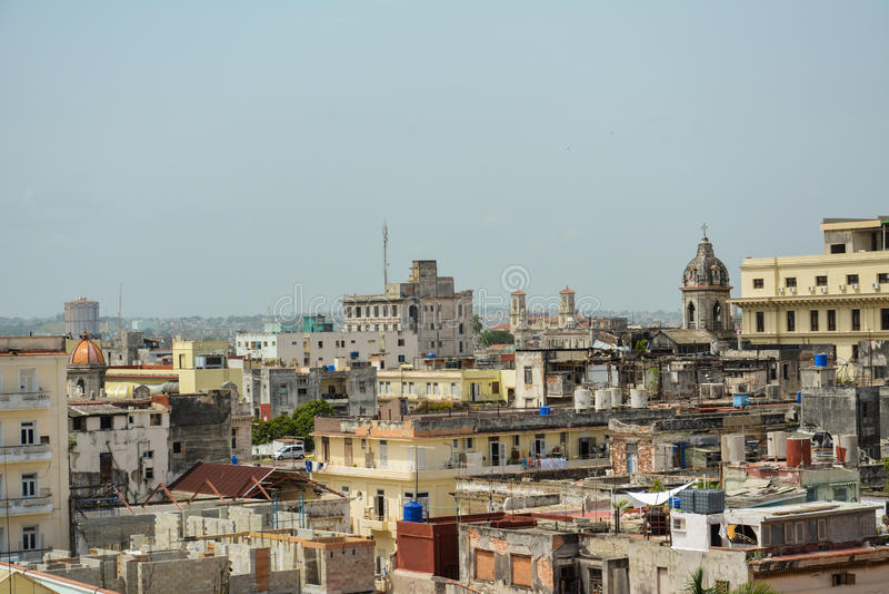 havana panorama- sikt arkivfoto