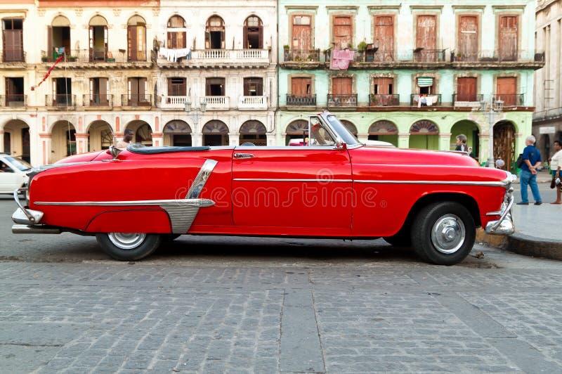 havana samochodowy klasyczny rocznik obrazy royalty free