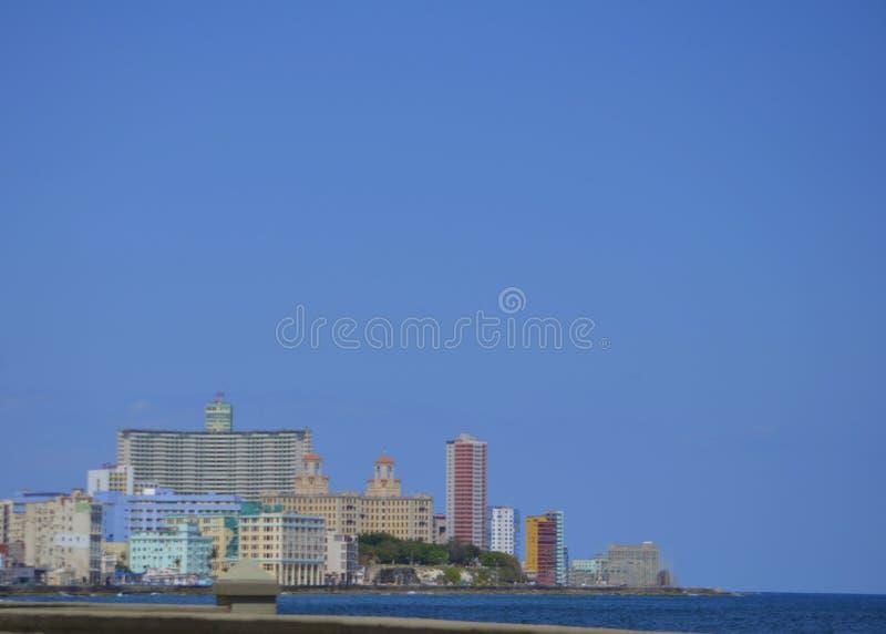 Havana Skyline royaltyfri foto
