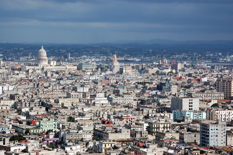 Havana-Skyline, Kuba lizenzfreies stockbild