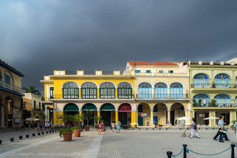 Havana Square imagenes de archivo
