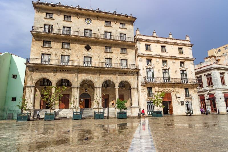 Havana Square foto de archivo libre de regalías