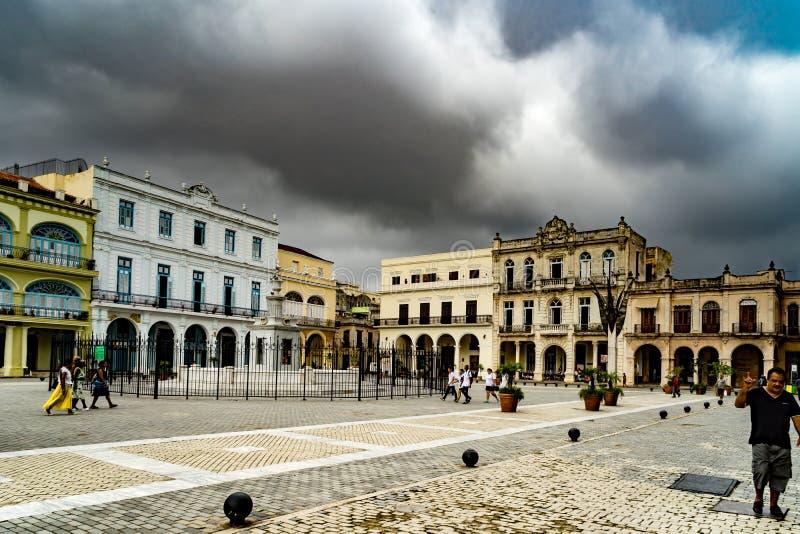 Havana Square fotografía de archivo
