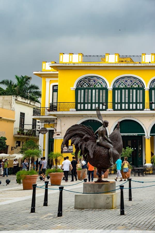 Havana Square imagen de archivo libre de regalías