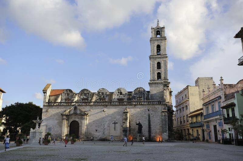 Havana stad, Kuba arkivbild
