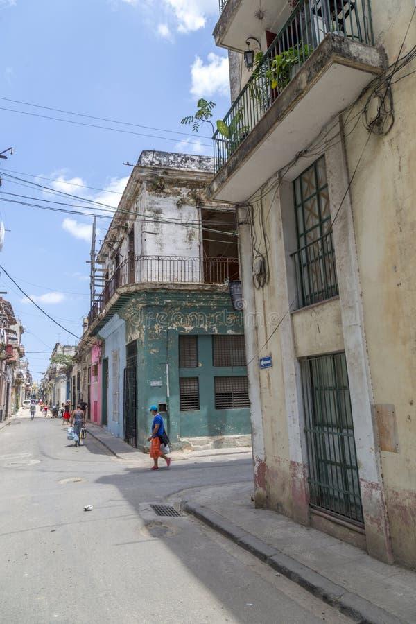 Havana Steet scene-8 lizenzfreie stockfotos