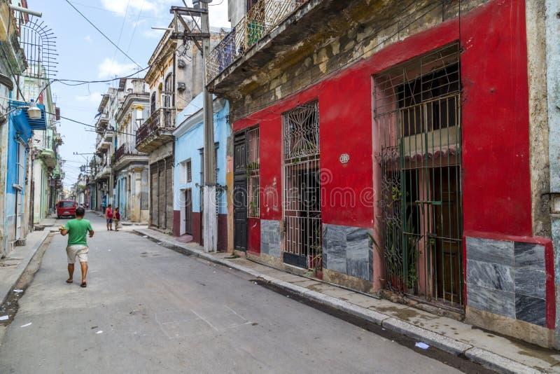 Havana Steet scene-6 lizenzfreie stockfotografie