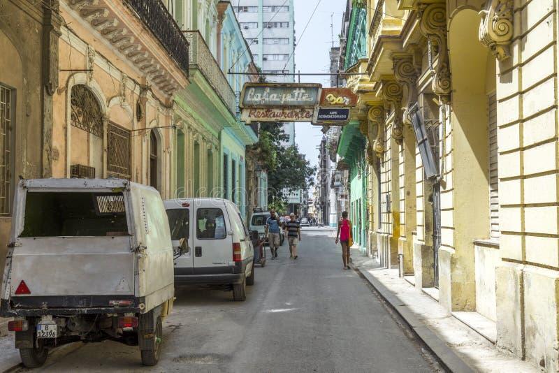 Havana Steet scene-45 stockfoto