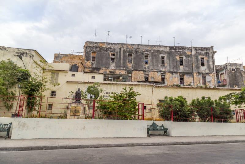 Havana Steet-Szene lizenzfreies stockfoto