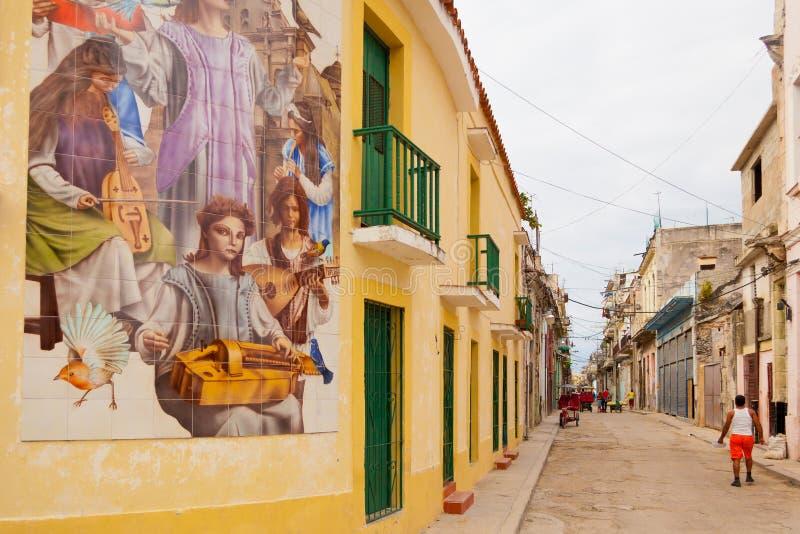 Havana Street Life fotografering för bildbyråer