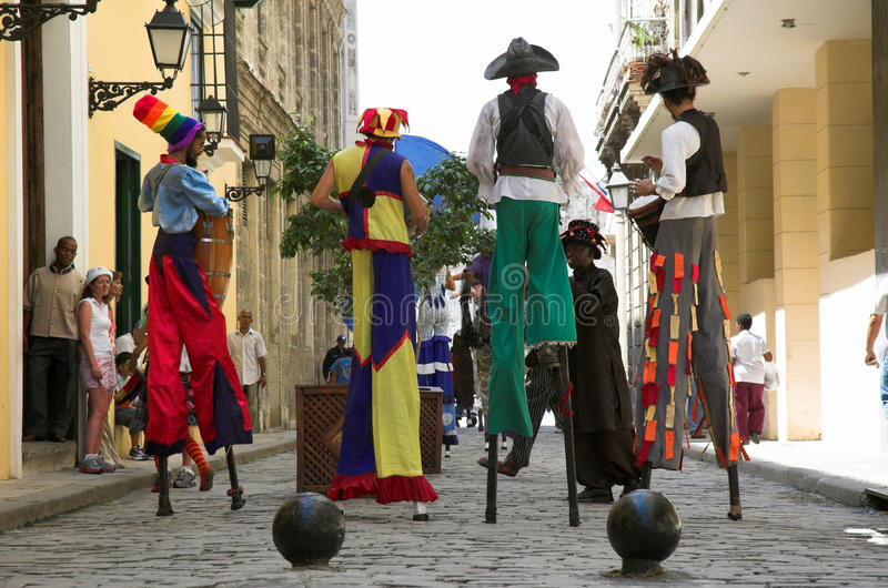 Download Havana Street performers editorial photography. Image of cuba - 18248187