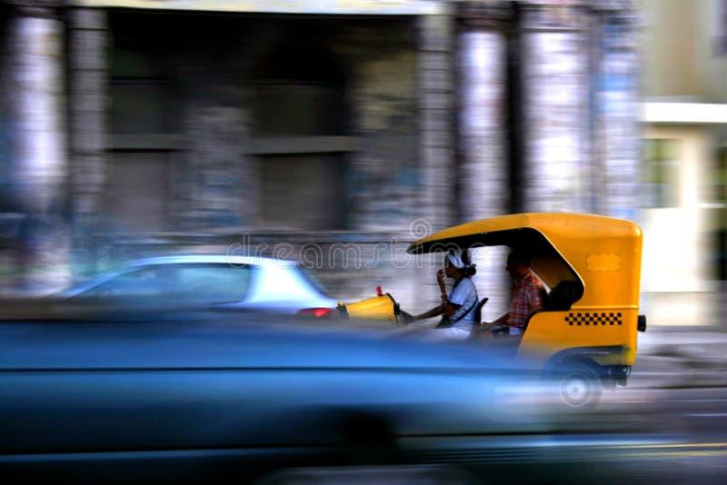 Havana Traffic stock photo