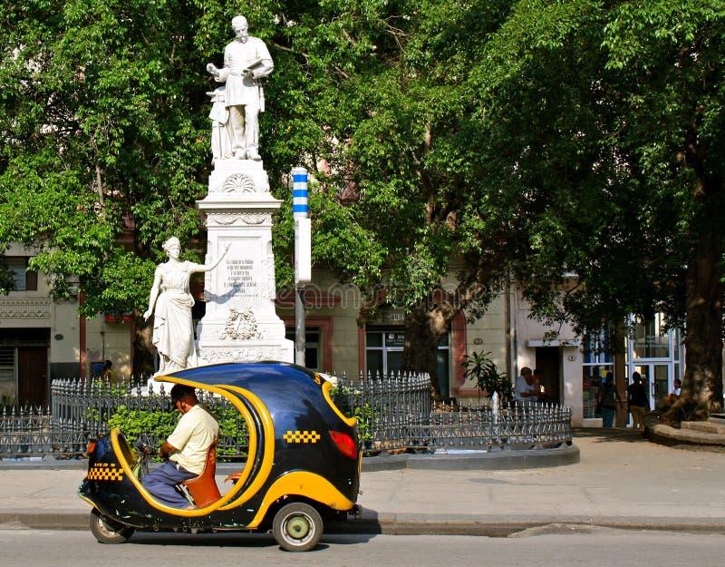 Havana Transportation par Cocotaxi photos libres de droits