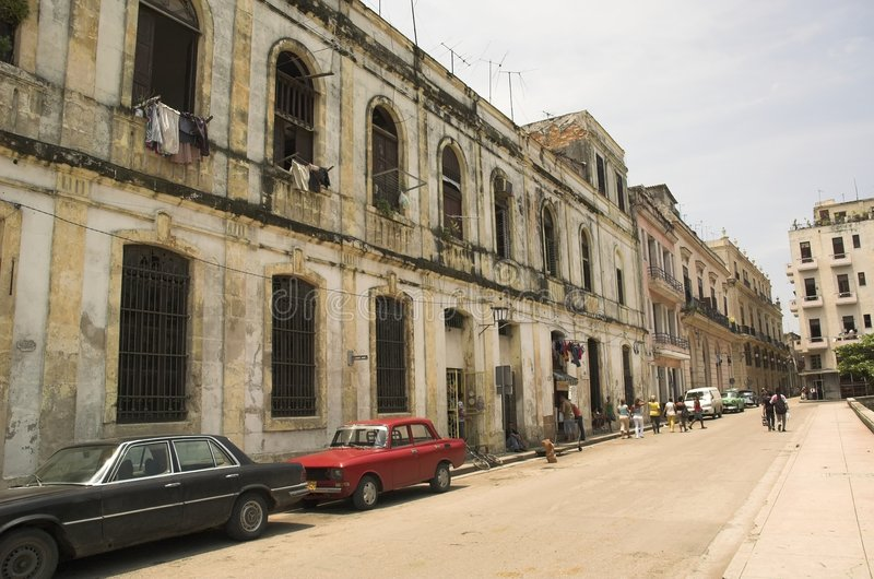 Havana velho foto de stock royalty free