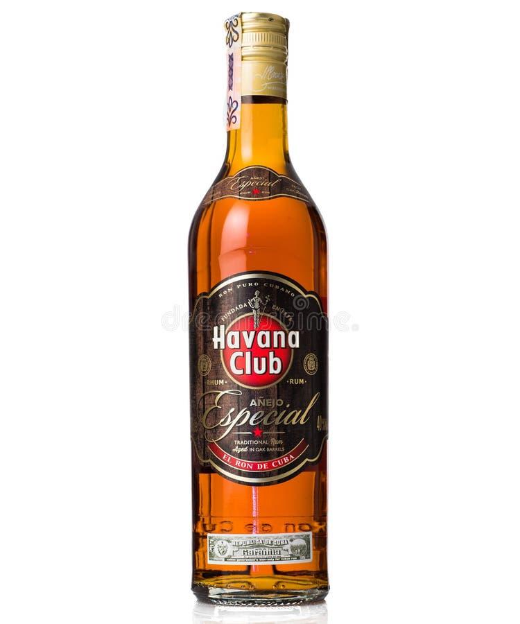Havana-Verein anejo besonderer Rum stockfotos