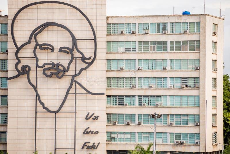 Havannacigarr Kuba - November 29, 2017: Fyrkantig st?ende f?r revolution, havannacigarr, Kuba arkivbilder
