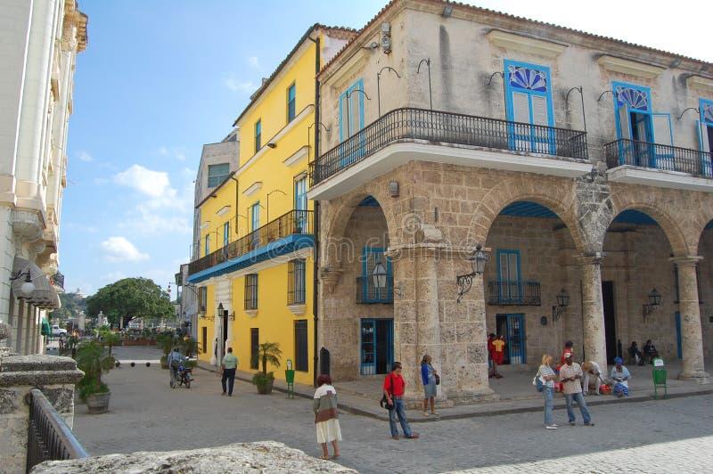 Havannacigarrbyggnader fotografering för bildbyråer