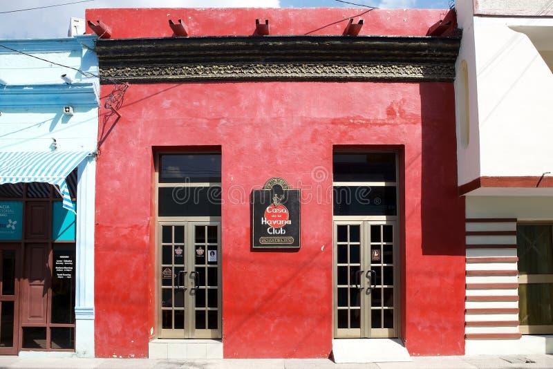 Havannacigarrklubba ett märke av rom arkivbilder