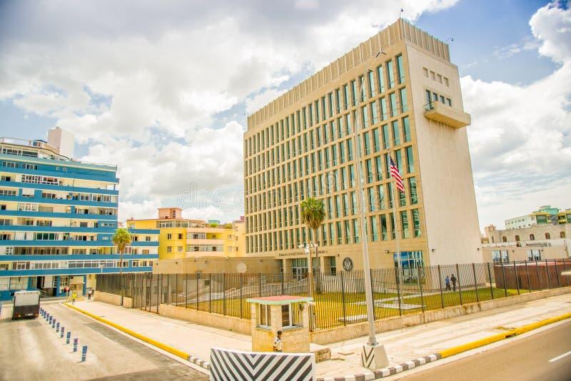 havarti USA ambasada obrazy royalty free