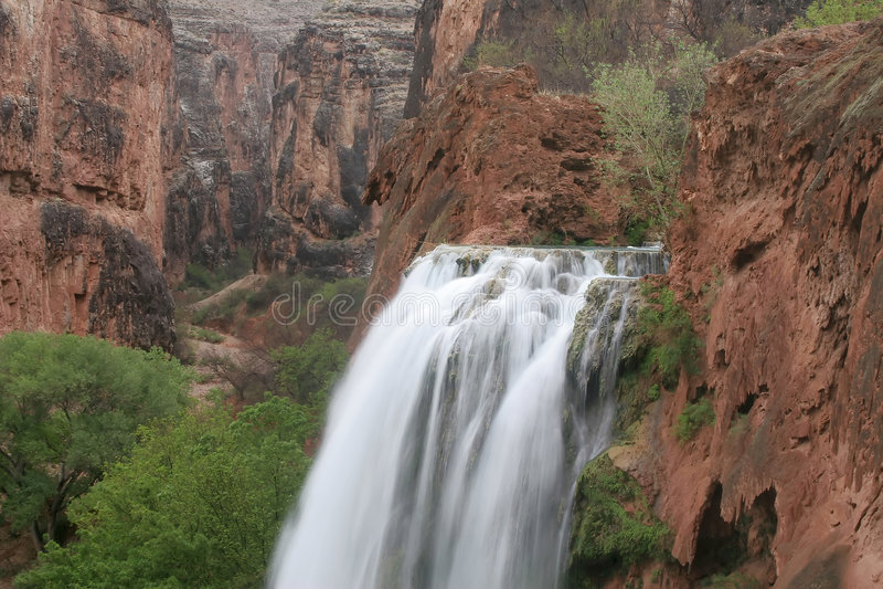 Download Havasu Falls stock photo. Image of creek, canyon, america - 2502050