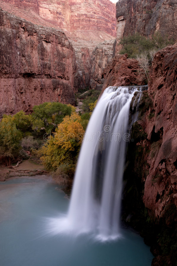 Havasu Falls stock image