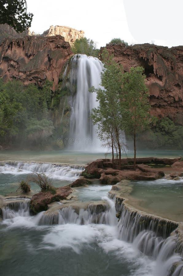Havasu Falls, Arizona royalty free stock images