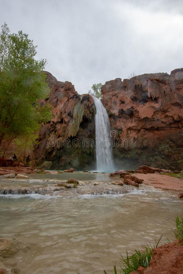 Havasu tombe l'Arizona image libre de droits