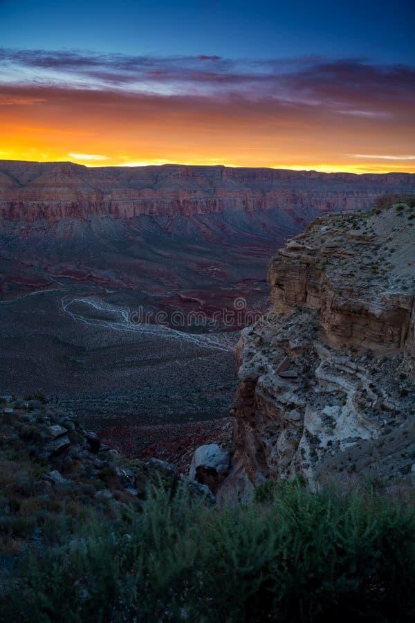Havasupai-Wasserfälle in Arizona stockfotografie