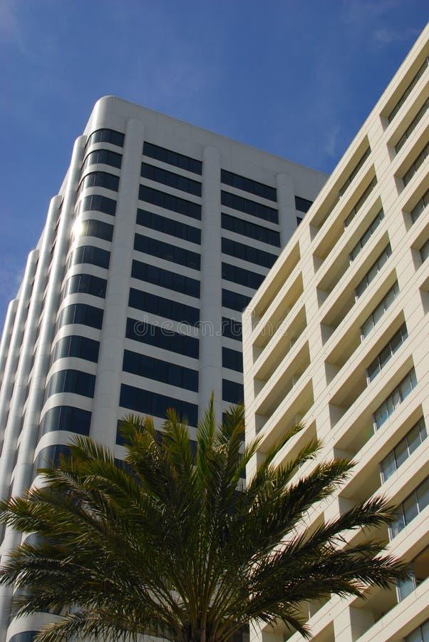 Havavenybyggnad i Santa Monica arkivfoton