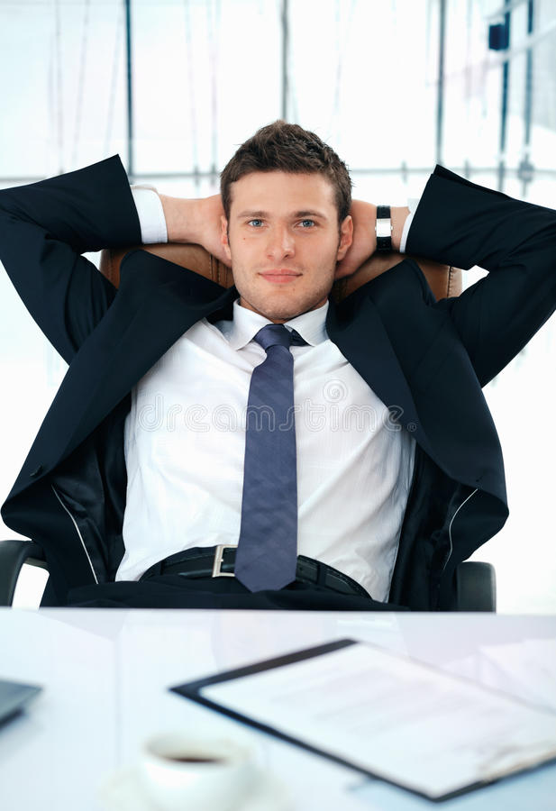Download Have a Brake. stock photo. Image of male, office, smiling - 14855950