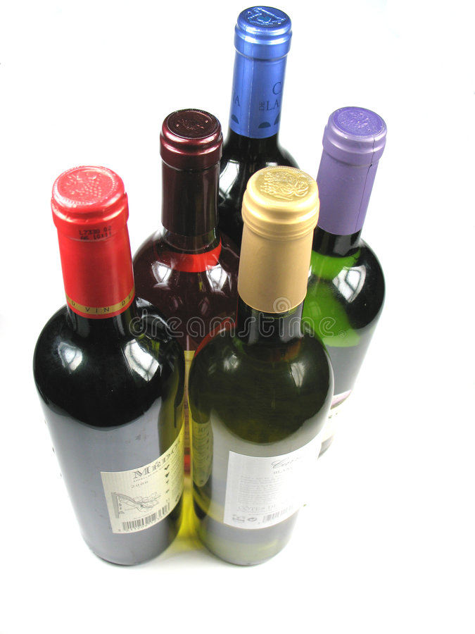 Have a drink on me. Wine, the drink of the gods stock image