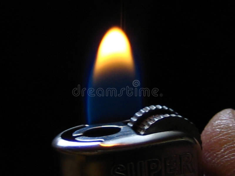 Have A Light! Royalty Free Stock Photo
