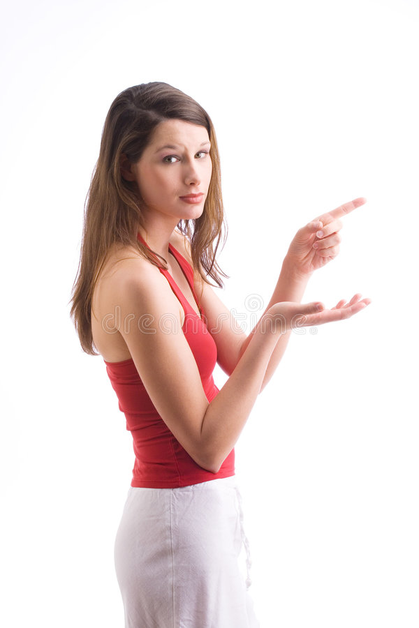Download Have a Look stock photo. Image of forefinger, choose, long - 2403060