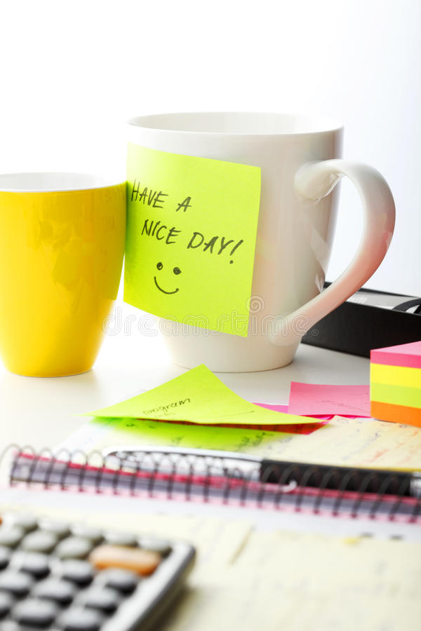 Have a nice day! royalty free stock photo