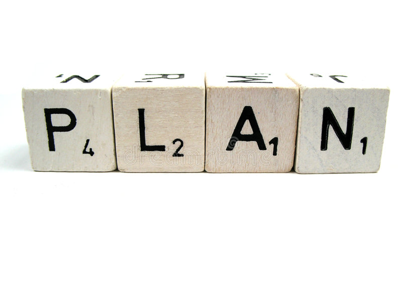 Download Always have a plan stock photo. Image of plan, printed - 6492124
