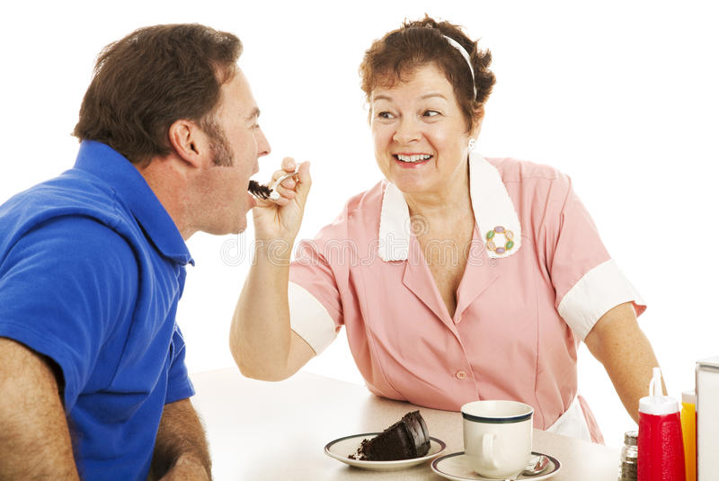 Have Some Cake Sweetie royalty free stock photography