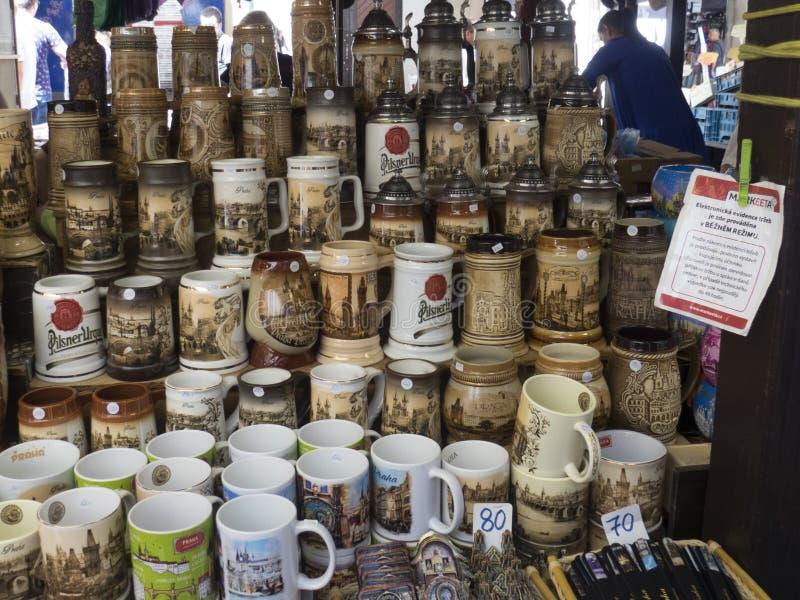 Havel` s Markt, Praag stock foto