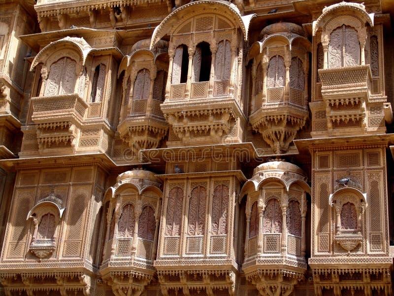 Haveli, Jaisalmer royalty-vrije stock foto