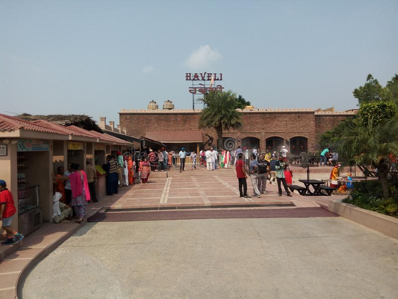 Haveli jalandhar Punjab India stock foto's