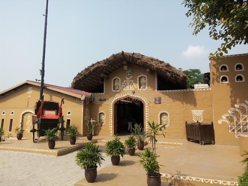 Haveli jalandhar Punjab India stock afbeelding