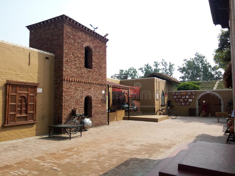 Haveli jalandhar Punjab India stock fotografie