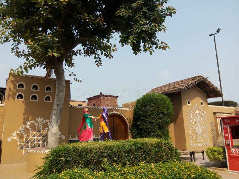 Haveli jalandhar punjab Indien arkivbild
